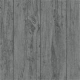 Vliesové tapety na zeď Felicita prkna s výraznou texturou a perleťovými odlesky černé