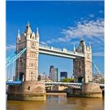 Vliesové fototapety Tower Bridge rozměr 225 cm x 250 cm