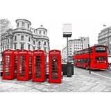 Vliesové fototapety Londýn rozměr 375 cm x 250 cm