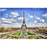 Vliesové fototapety Paříž rozměr 375 cm x 250 cm