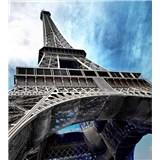 Vliesové fototapety Eiffelova věž rozměr 225 cm x 250 cm