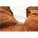 Vliesové fototapety poušť rozměr 375 cm x 250 cm