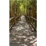 Vliesové fototapety mangrovový les rozměr 150 cm x 250 cm