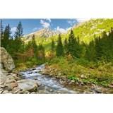 Vliesové fototapety údolí rozměr 375 cm x 250 cm