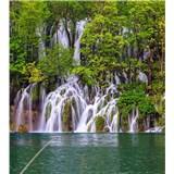 Vliesové fototapety Plitvická jezera rozměr 225 cm x 250 cm