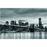 Vliesové fototapety Brooklyn Bridge rozměr 312 cm x 219 cm