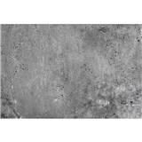Vliesové fototapety betonová stěna rozměr 375 cm x 250 cm