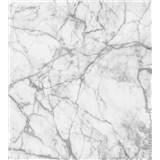 Vliesové fototapety mramor bílý rozměr 225 cm x 250 cm