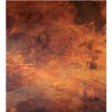 Vliesové fototapety měď škrábaná rozměr 225 cm x 250 cm