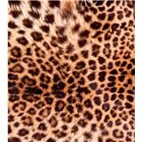 Vliesové fototapety leopardí kůže rozměr 225 cm x 250 cm