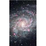 Vliesové fototapety galaxie rozměr 150 cm x 250 cm