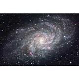 Vliesové fototapety galaxie rozměr 375 cm x 250 cm