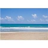 Vliesové fototapety prázdná pláž rozměr 375 cm x 250 cm