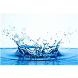 Vliesové fototapety voda rozměr 375 cm x 250 cm