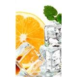 Vliesové fototapety citron a led rozměr 150 cm x 250 cm