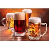 Vliesové fototapety pivo rozměr 375 cm x 250 cm