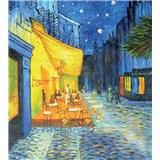 Vliesové fototapety terasa kavárny v noci - Vincent Van Gogh rozměr 225 cm x 250 cm