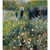 Vliesové fototapety Ženy v zahradě - Pierre Auguste Renoir rozměr 225 cm x 250 cm