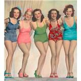 Vliesové fototapety okouzlující ženy rozměr 225 cm x 250 cm