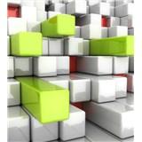 Vliesové fototapety 3D boxy rozměr 225 cm x 250 cm