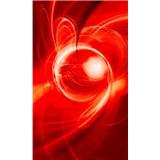 Vliesové fototapety abstrakt oranžový rozměr 150 cm x 250 cm