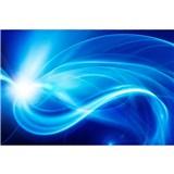 Vliesové fototapety abstrakt modrý rozměr 375 cm x 250 cm