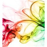 Vliesové fototapety kouř barevný rozměr 225 cm x 250 cm
