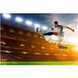 Vliesové fototapety fotbalový hráč rozměr 375 cm x 250 cm