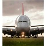 Vliesové fototapety Airbus rozměr 225 cm x 250 cm