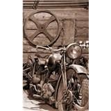 Vliesové fototapety Vintage garáž rozměr 150 cm x 250 cm