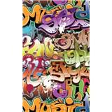 Vliesové fototapety graffiti rozměr 150 cm x 250 cm