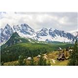 Vliesové fototapety Alpy rozměr 416 cm x 254 cm