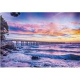 Vliesové fototapety moře a západ slunce rozměr 104 cm x 70,5 cm