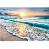 Vliesové fototapety příliv moře rozměr 368 cm x 254 cm