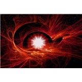 Vliesové fototapety vesmírný Twist rozměr 416 cm x 254 cm