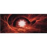 Vliesové fototapety vesmírný Twist rozměr 250 cm x 104 cm