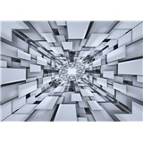 Vliesové fototapety 3D abstrakce rozměr 416 cm x 254 cm