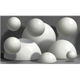 Vliesové fototapety 3D koule rozměr 416 cm x 254 cm