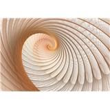 Fototapety lastura hnědá rozměr 368 cm x 254 cm