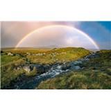 Vliesové fototapety Hefele barevné Faerské ostrovy, rozměr 450 cm x 280 cm