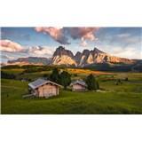 Vliesové fototapety Hefele Dolomity, rozměr 450 cm x 280 cm