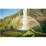 Vliesové fototapety Hefele malebný Island, rozměr 450 cm x 280 cm