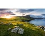 Vliesové fototapety Hefele Skotský ráj, rozměr 450 cm x 280 cm