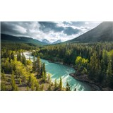 Vliesové fototapety Hefele divoká Kanada, rozměr 450 cm x 280 cm