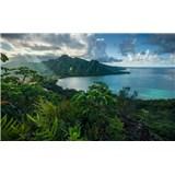Vliesové fototapety Hefele Jurský ostrov, rozměr 450 cm x 280 cm