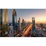 Vliesové fototapety Hefele Level 43 - Dubaj, rozměr 450 cm x 280 cm