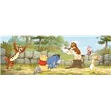 Fototapeta Disney Medvídek Pú se učí rozměr 202 cm x 73 cm