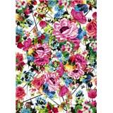 Fototapety barokní květy rozměr 184 cm x 254 cm