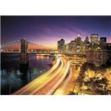 Fototapety New York Night rozměr 368 cm x 254 cm