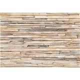 Fototapety obílené dřevo rozměr 368 cm x 254 cm